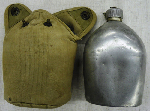 U.S. A.G.M. Co. 1918 Canteen with Cover
