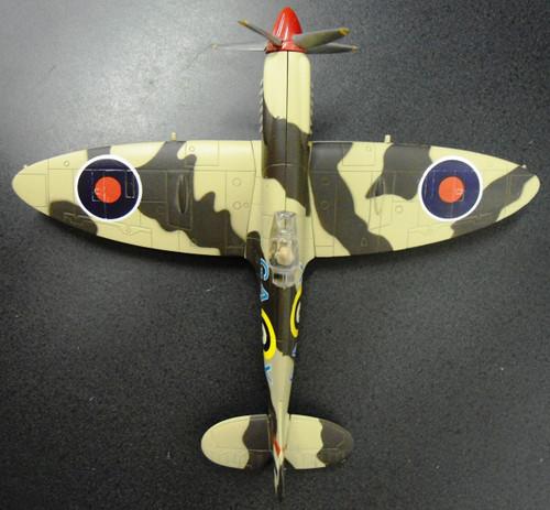 British WWII Supermarine Spitfire Airplane Model