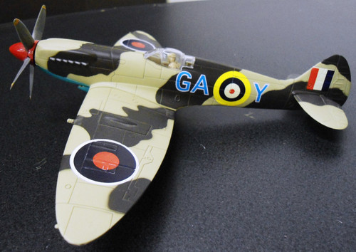 British WWII Supermarine Spitfire Airplane Model
