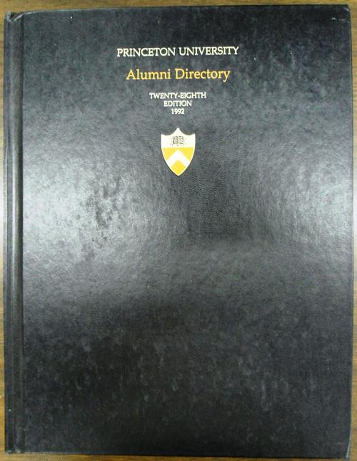 Princeton University Alumni Directory - 1992