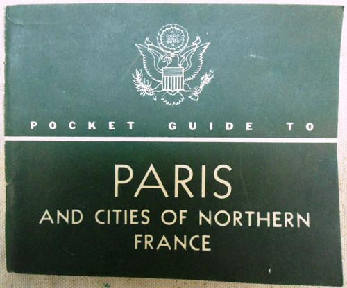 War Dept's Pocket Guide to Paris 1944