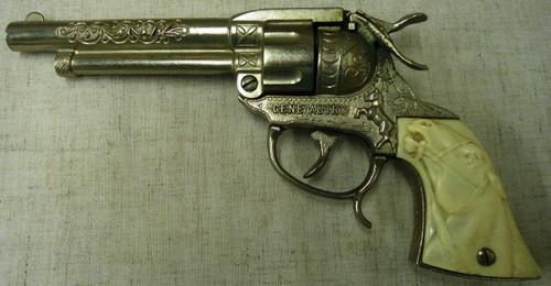 Leslie-Henry Model GA-24 Gene Autry Cap Gun circa 1950's