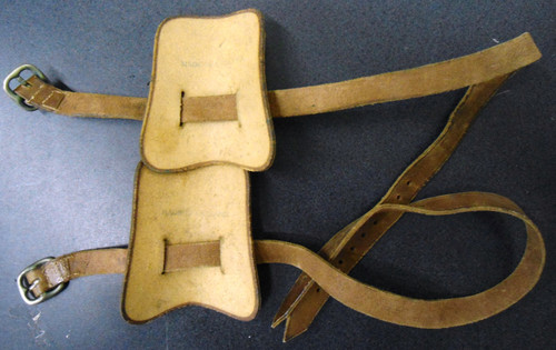 U.S. WWI Officer's Spur Straps made in England