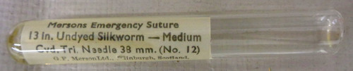 Marsons Emergency Suture in Glass Vial