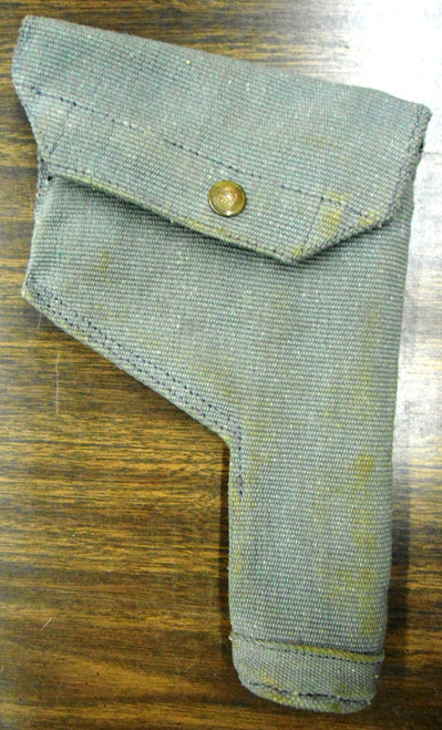 British 1951 Enfield P38 Canvas Holster w/Cleaning Rod