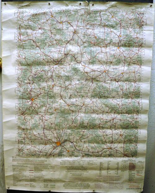 Schweinfurt Germany Map