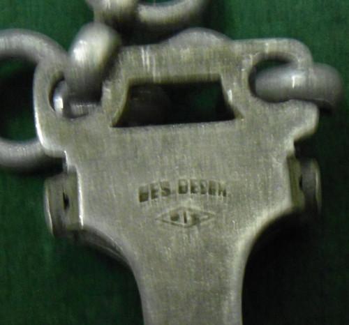 German Luftwaffe Type I Dagger hanger stamp