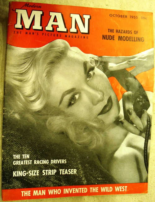 Modern Man Magazine Volume V No. 4 October 1955