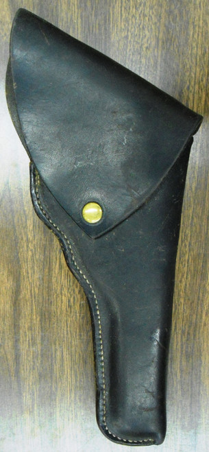 S.D. Myres Black Leather Flap Holster for N-Frame S&W Revolver