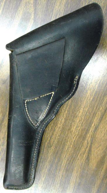 S.D. Myres Black Leather Flap Holster for N-Frame S&W Revolver