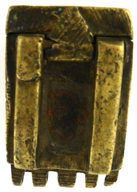 Mid-Eastern Small Brass Cap Box