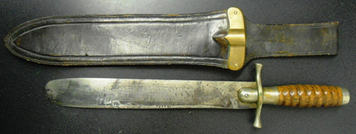 U.S. Army M1887 Hospital Corp Bolo with Scabbard
