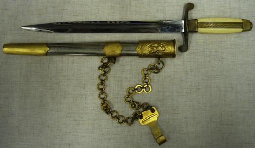 Bulgarian Model 1951 Officer's Dagger with Scabbard & Hanger
