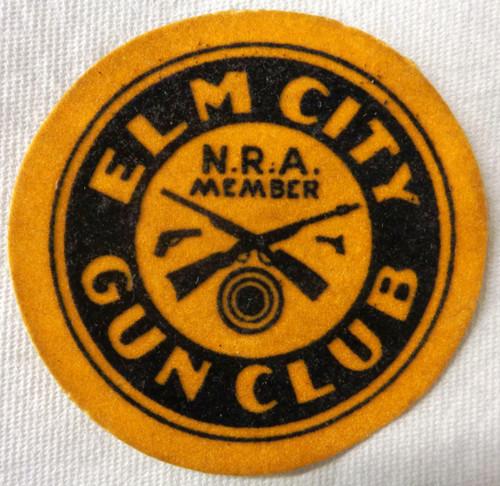 Elm City Gun Club N.R.A. Member Patch