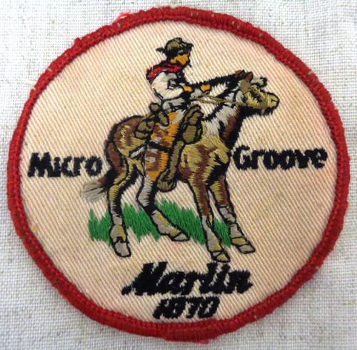 Marlin Micro Groove 1870 Embroidered Patch