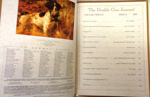 The Double Gun & Single Shot Journal Winter 2009
