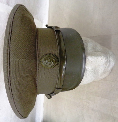 Russian Army Field Cap with Hat Badge circa 1950's