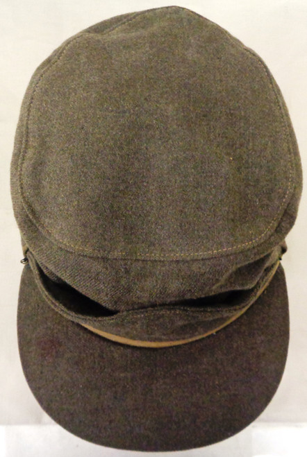 Canadian WWII Winter Field Cap with Ear Flaps