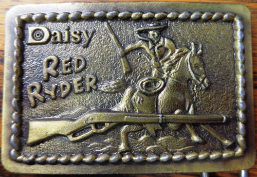 Daisy Red Ryder Boys Belt Buckle by Astamar, Boston