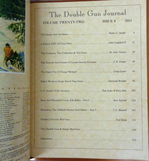 The Double Gun & Single Shot Journal Winter 2011