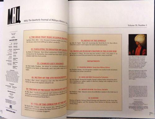 MHQ Volume 19 Number 1 Autumn 2006