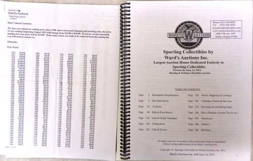 Ward's Auctions Catalog June 1st, 2012 Auction 48