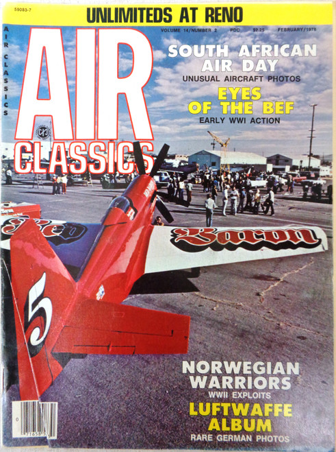 Air Classics Vol. 14 No. 2 February 1978
