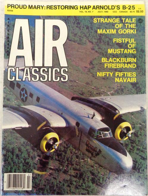 Air Classics Vol. 18 No. 7 July 1982