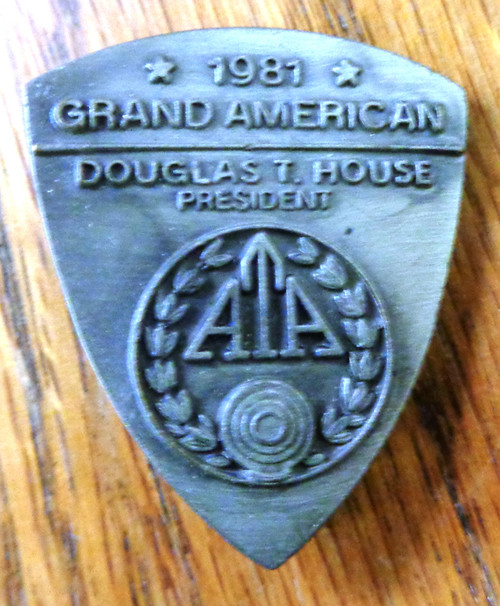 Amateur Trapshooting Association (ATA) Grand American 1981 Pin
