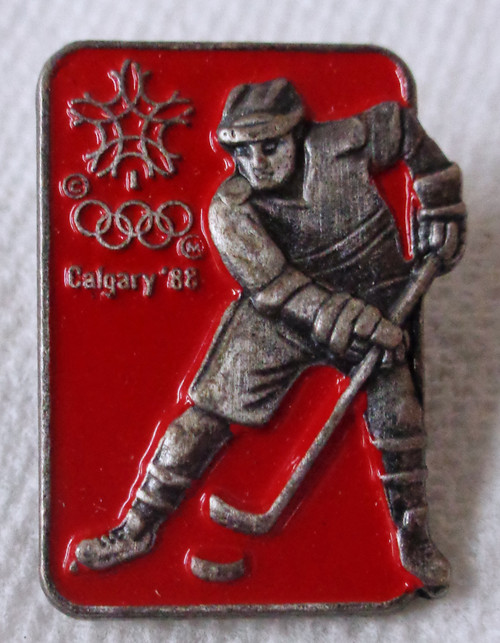 Calgary 1988 Olympic Winter Games - Ice Hockey - Pin