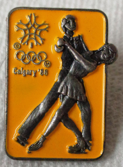 Calgary 1988 Olympic Winter Games - Figure Skating - Pin