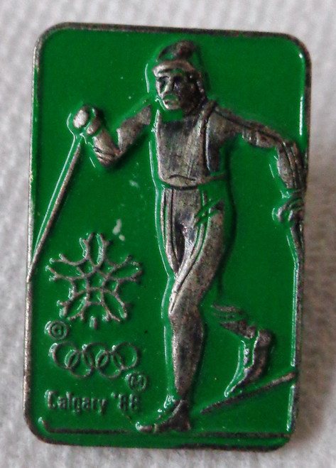 Calgary 1988 Olympic Winter Games - Cross Country Skiing - Pin