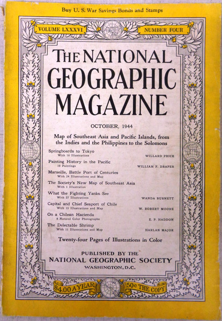 National Geographic Magazine Vol. 86 No. 4 October 1944