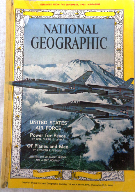 National Geographic Magazine September 1965 Article Reprint