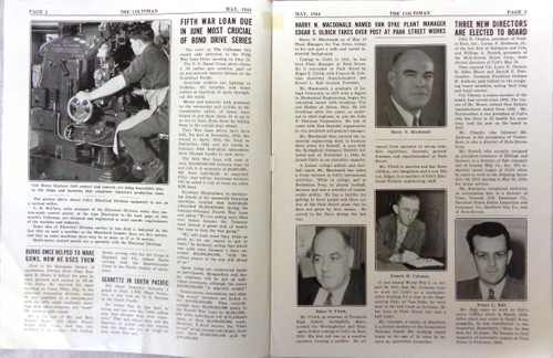 The Coltsman Newsletter Vol. III No. 5 May 1944
