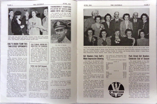 The Coltsman Newsletter Vol. III No. 6 June 1944