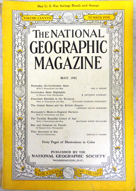 National Geographic Magazine Vol. 87 No. 5 May 1945