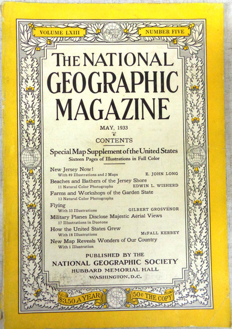 National Geographic Magazine Vol. 63 No. 5 May 1933