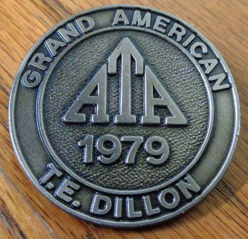 Amateur Trapshooting Association (ATA) Grand American 1979 Pin