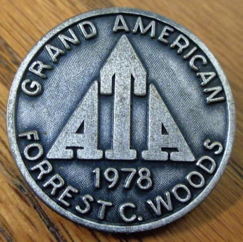 Amateur Trapshooting Association (ATA) Grand American 1978 Pin