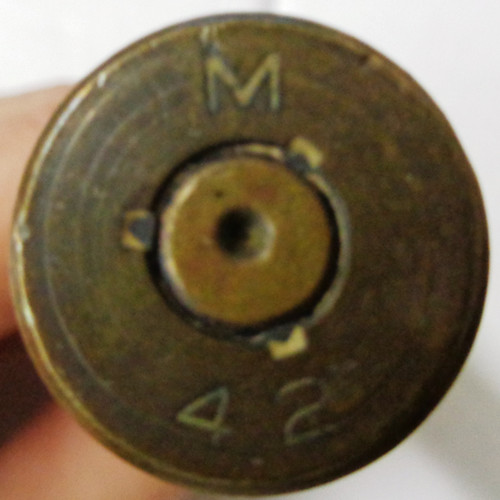 M42 50 cal. Machine Gun Cartridge