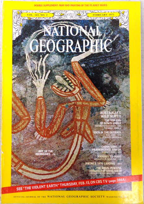 National Geographic Magazine Vol. 143 No. 2 February 1973
