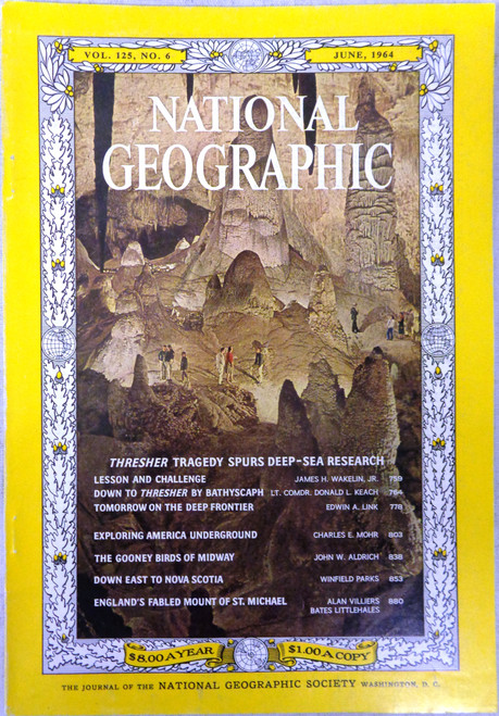 National Geographic Magazine Vol. 125 No. 6 June 1964