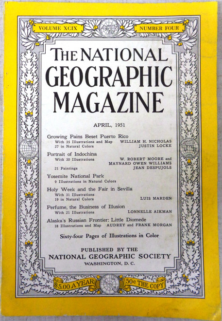 National Geographic Magazine Vol. 99 No. 4 April 1951