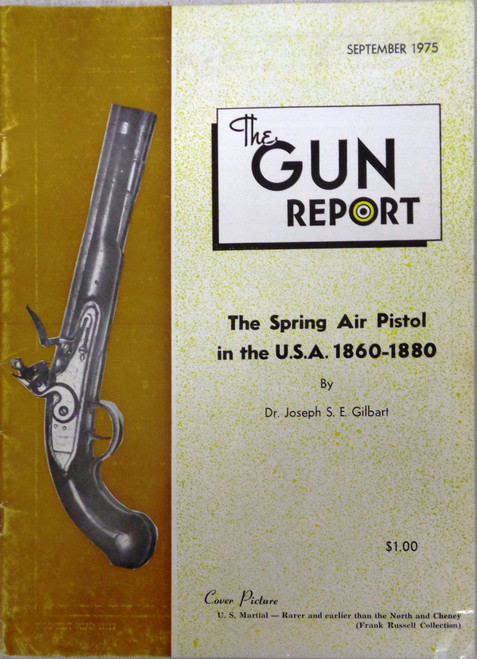 The Gun Report Vol. 21 No. 4 September 1975