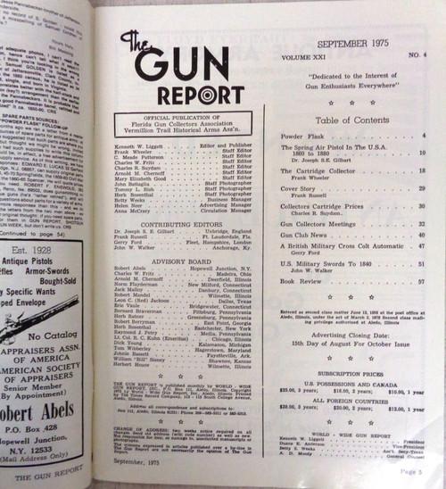 The Gun Report Vol. 21 No. 4 September 1975