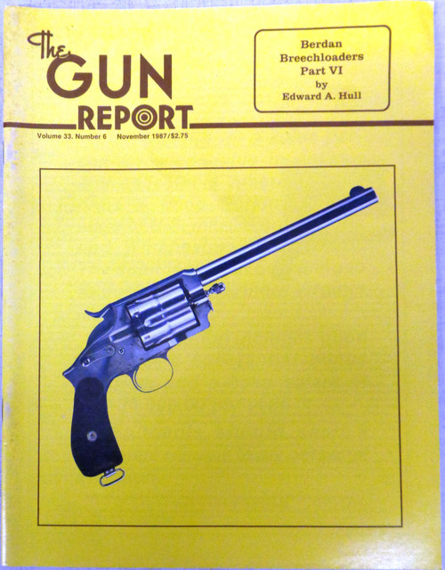 The Gun Report Vol. 33 No. 6 November 1987