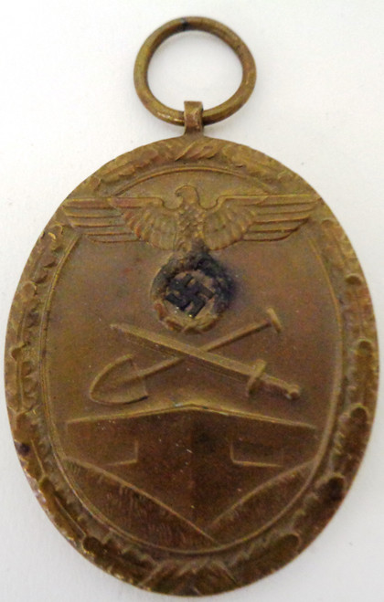 German WWII West Wall Medal