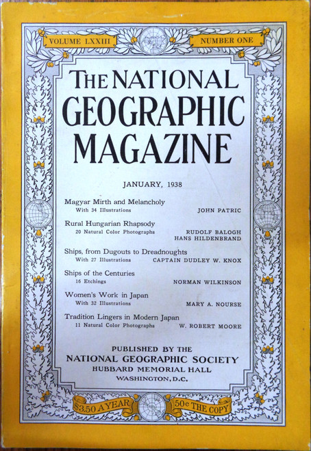 National Geographic Magazine Vol. 073 No. 1 January 1938