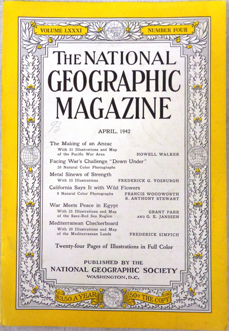 National Geographic Magazine Vol. 081 No. 4 April 1942